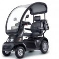 Afiscooter S (Breeze S) 4-Wheel Scooter w/ optional Wide Seat and Golf Wheels