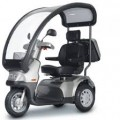 Afiscooter S (Breeze S) 3-Wheel Scooter w/ optional Wide Seat and Golf Wheels