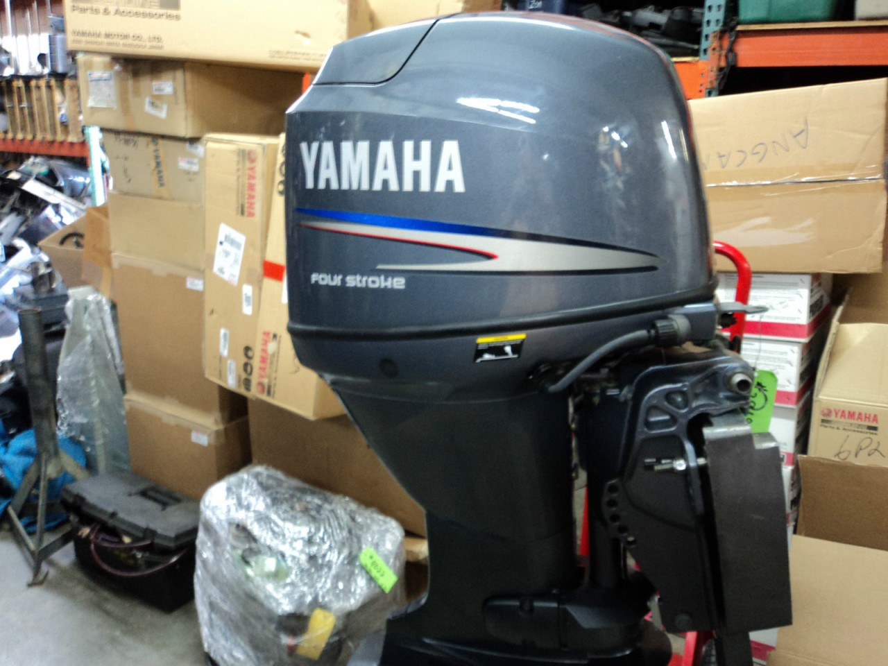 2007 YAMAHA T60HP FOUR STROKE HIGH THRUST OUTBOARD MOTOR